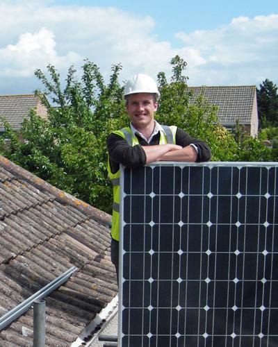 Chris_solar_installation