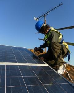 Greenleaf Innovations solar installation
